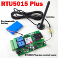 RTU5015 Plus GSM Remote board with two alarm input and one relay output Free Call and SMS control Compatible RTU5024 with app