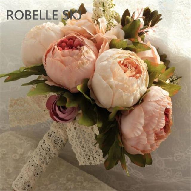 Bouquet De Mariage Kunstliche Hochzeit Blumen Brautstrausse