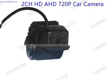 AHD 720P Dual Lens Cameras Vehicle Camera,IR Night VIsion,Aviation Interface   for Bus Car Truck Vans  Taxi