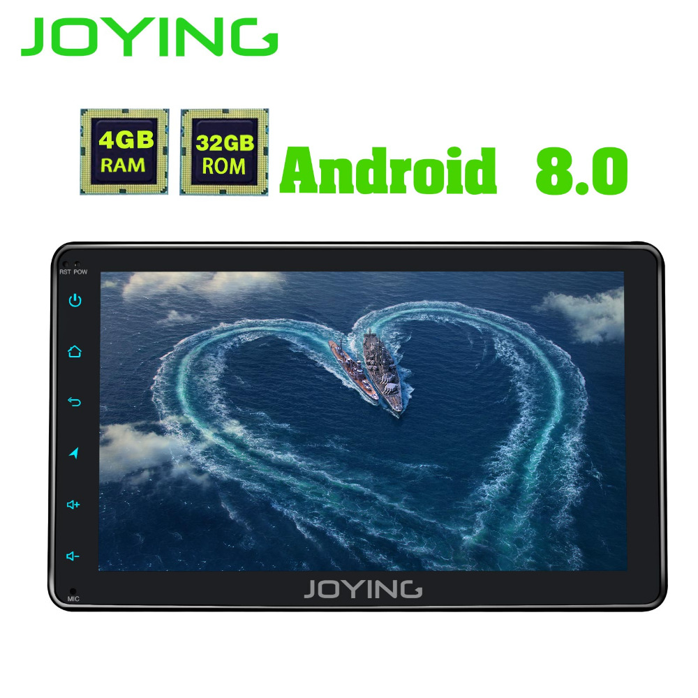 Joying 4 gb RAM OCTA CORE 8 android 8.0 Auto Radio Stéréo 1 Din Voiture Lecteur Multimédia GPS De Voiture radio Autoradio magnétophone HU