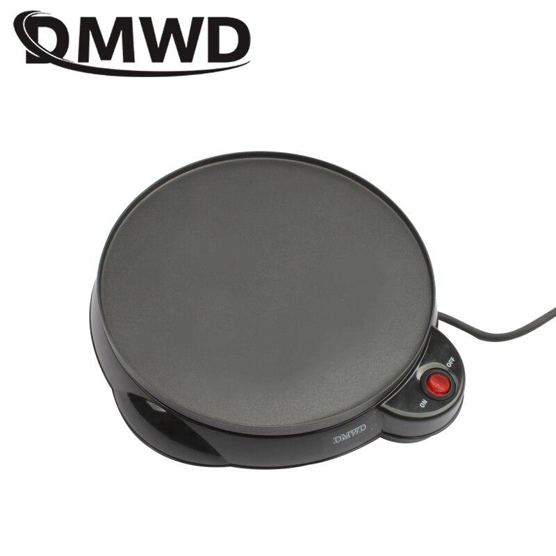 DMWD Electric Egg Crepe Maker Baking pizza pan pancake Cooker Non-stick Plate Teppanyaki spring roll Breakfast machine 220V-240V