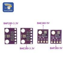 Iec SPI BMP280 3,3 В цифровой атмосферный датчик давления, датчик высоты постоянного тока, высокая точность BME280 1,8-5 В, атмосферный модуль для arduino