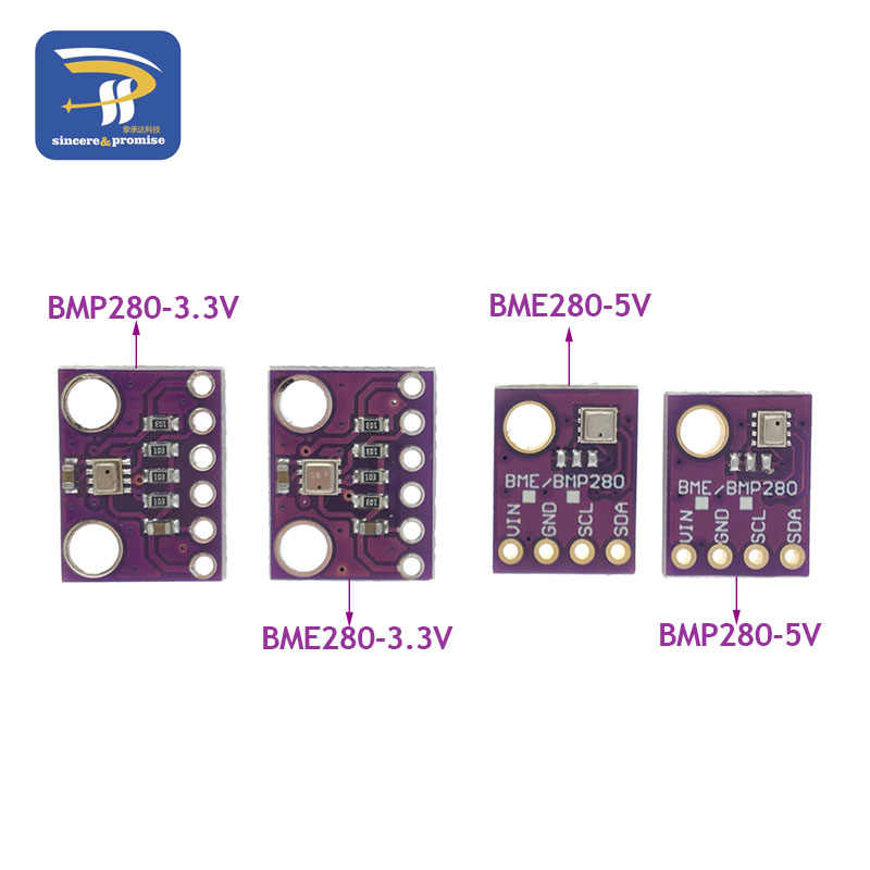 I2C SPI BMP280 3.3V Digital Barometric Pressure Altitude Sensor DC High Precision BME280 1.8-5V Atmospheric Module for arduino