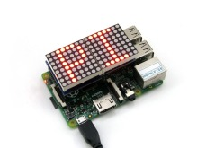 Raspberry Pi LED Matrix with MAX7219 Driver for Raspberry Pi 3 Model B/2B/B+/A+ MAX7219 Red DOT Display 8×8 Common Cathode LEDs