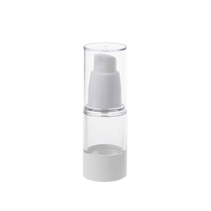 15/30/50ML 1pcs Empty Plastic Cosmetic Bottle Travel Mini Liquid Bottles Transparent Airless Pump Vacuum Toiletries Container