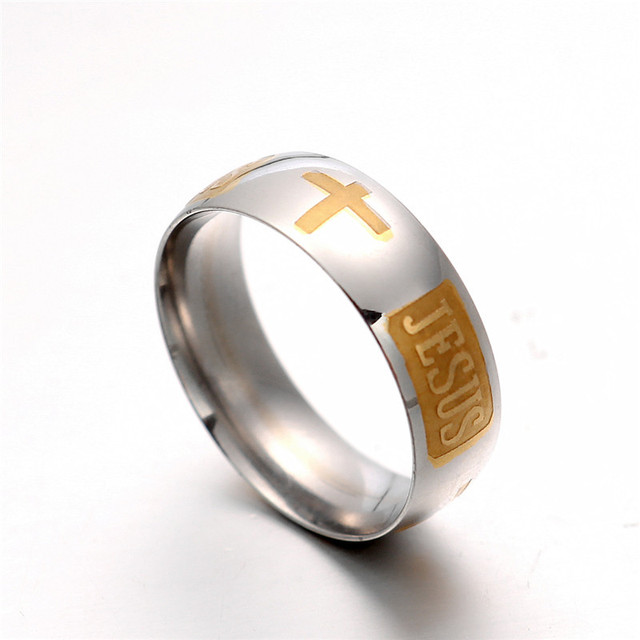 Christian Jesus ring 1