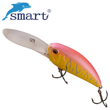 SMART Crankbait 85mm/37.2g Floating(5.3-5.9m) Hard Fishing Lure VMC Hook Isca Artificial Para Pesca Leurre Peche Fishing Tackle