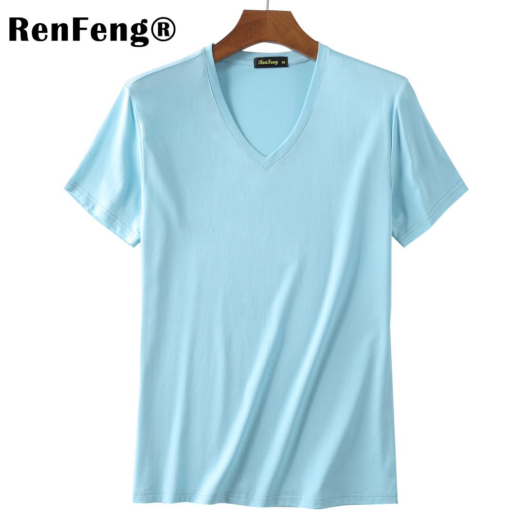 Mens t shirts Fashion 2018 Clothing Men Undershirt Chaleco Hombre Short Sleeve Tshirt Solid Modal Mens Knitted Underwear homme (9)