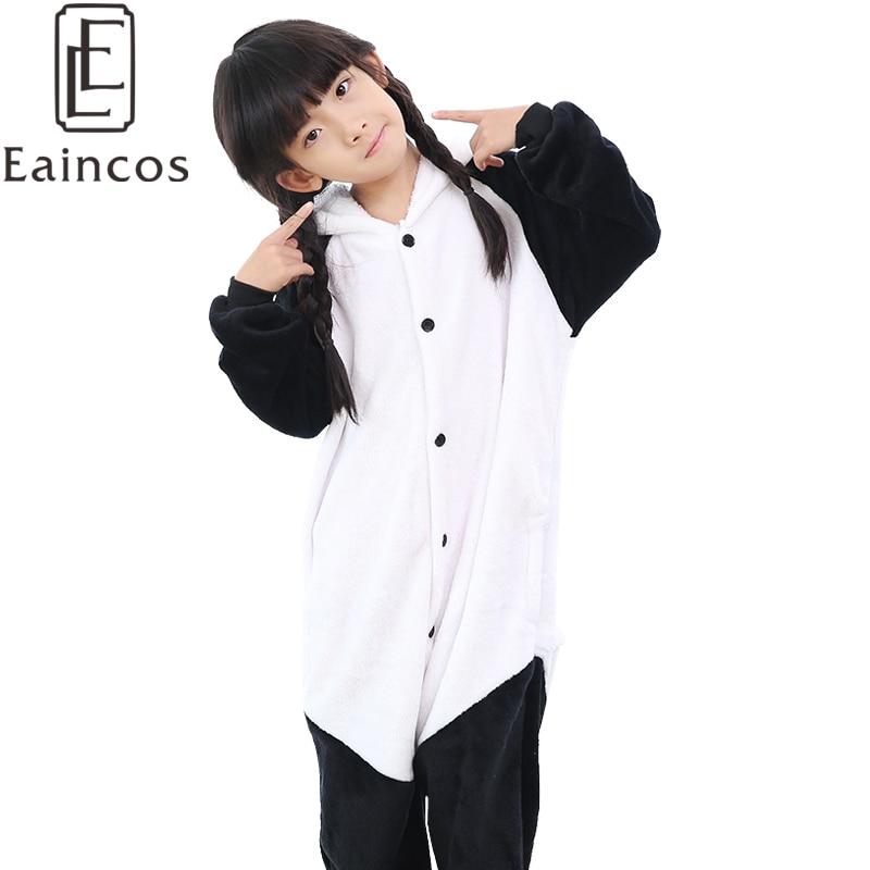 87b2cf5173e59 Enfants Enfants Animal de Bande Dessinée Onesie Pyjamas Ours Panda Pyjamas  Cosplay Costume Party Filles Garçons de Nuit Pyjamas Ensembles