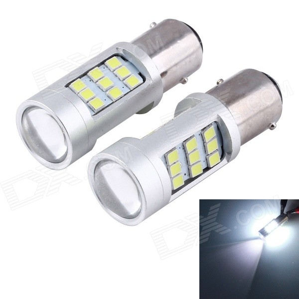 50pcs/lot Super Bright White High Power Samsung LED 3528-SMD 1156 LED Bulbs For Brake, DRL, Turn Signal, Backup Lights Lamps