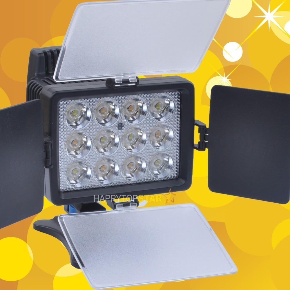 1040A 3200K 5400K LED Photo Light for JVC Panasonic Pentax SANYO Canon Nikon Li Ion Battery