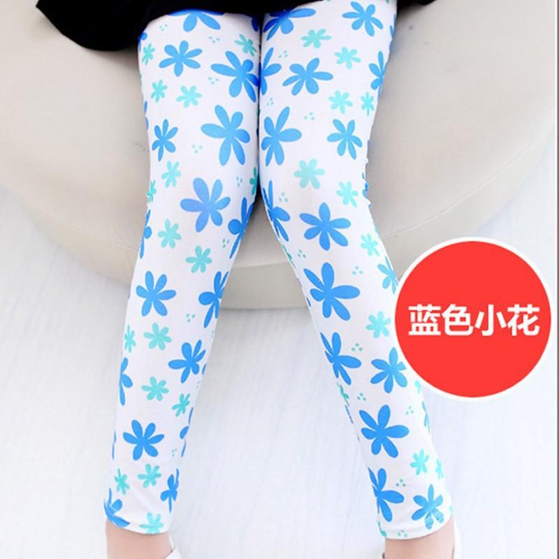 New Style Spring Autumn Children Leggings Flower Butterfly girls pants kids legging 5