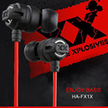 HA-FX1X  Xtremed Xplosives Earphones In-Ear Super Deep Bass Headset 3.5 mm Gaming Auriculares For Xiaomi&iPhone MP3/4 PC