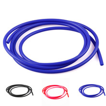 FIFAN 1meter 3mm/4mm/6mm/8mm Car vacuum silicone hose Black/Yellow/Blue/Red tube pipe