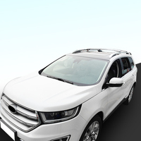 Cross Bar for Ford EDGE 2015 2018 Roof Rail Rack Aluminum Luggage Baggage