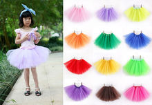 hot newest Baby Girls Kids Child Tutu colorful Skirt Mini Party Ballet Dance Short skirts 2-10 years