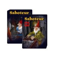¡2019! juego completo de cartas de 1 y 1 + 2 de sabotaje, juego de cartas, juego de cartas de minero enano de tabuleiro, base de jeu + juego de mesa de extensión