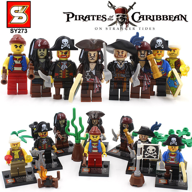 sy273 Somali pirates of the Caribbean one eyed person