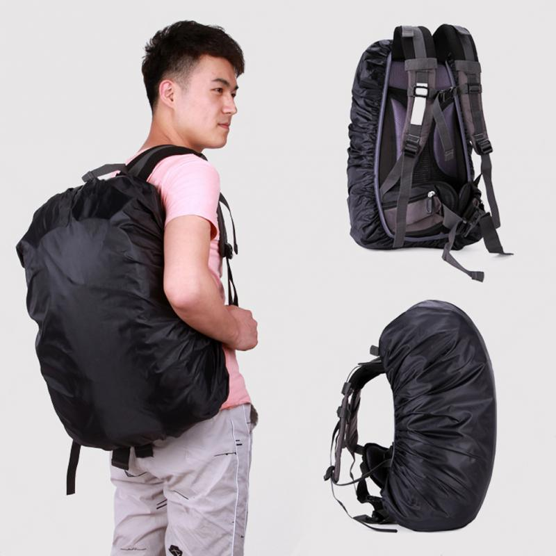 Waterproof Rainproof Backpack Rucksack Rain Dust Cover Bag Nylon Oxford Travel Backpack Durable Rucksack Bag 4 Colors Wholesale