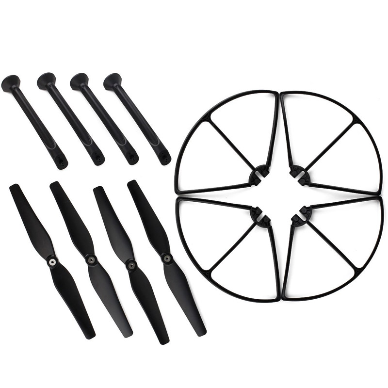 Free Shipping X8C/W/G Spare Parts Set 4 Propeller 4 Landing Gear 4 Protect Ring Vehicles & Remote Control Toys