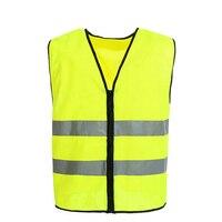 Gilet De Sécurité réfléchissant Trafic Gilet Fluorescent Jaune Traffice Veste Taille M-XL V82909