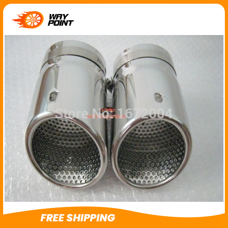 CHROME EXHAUST MUFFLER TIP For VOLVO XC90 2003 2014
