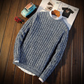 Autumn Winter Sweater Men Slim Fit Round Neck S332 Christmas Sweater Men Pullover Men Male Sweater Pull Homme Marque