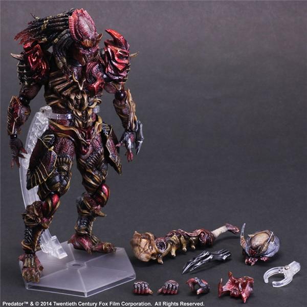 ФОТО 16  carton pop PA Alien Hunter action pvc figure character toy tall 26cm in box via EMS