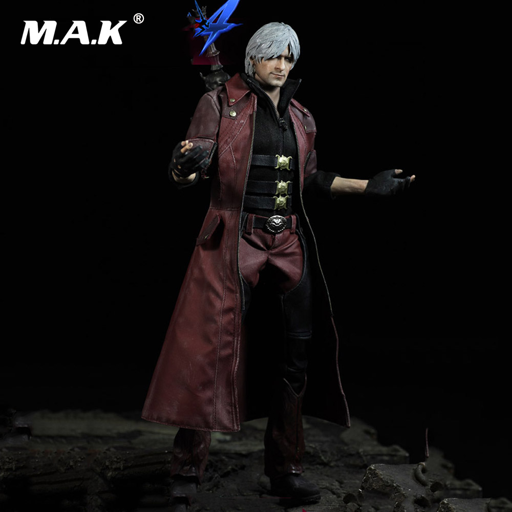 For Collection Full Set Man Figure Toys DMC001 1/6 Scale The Devil May Cry The DANTE Regular Figure Model Toy for Fans Gifts retro british school women messenger bag embossed hollow out shoulder briefcase department of forestry casual satchel