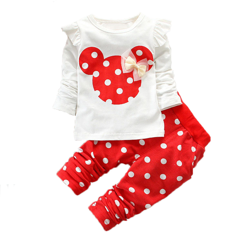 Child Lady Clothes New child Sport Garments Youngsters 2019garments child lady lengthy sleeve cottonT-Shirt+Dot Pants Set 2pcs Youngsters Garments Aliexpress, Aliexpress.com, On-line purchasing, Automotive, Telephones & Equipment, Computer systems...