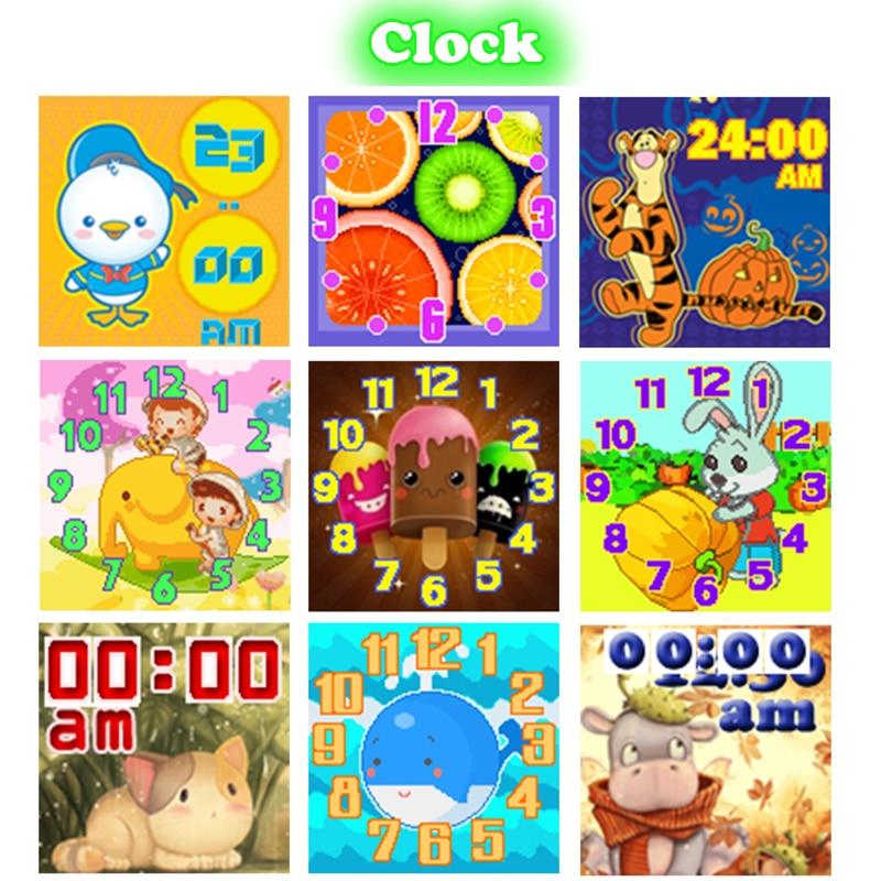 Kinder Smartwatch mit Rotierenden Kamera, touchscreen, Spiele, Timer ...