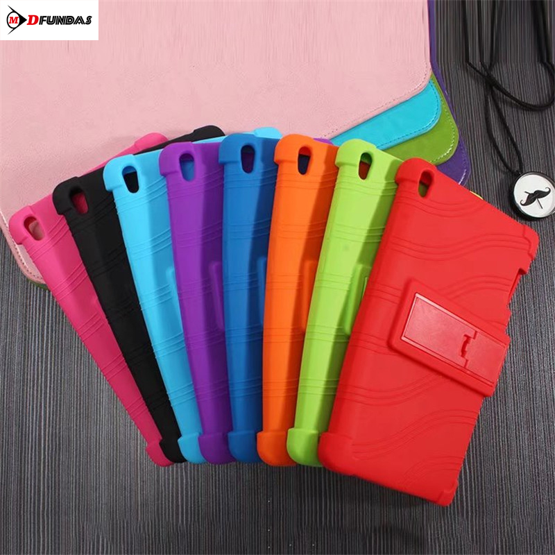 MDFUNDAS Soft Silicon Case For Lenovo Tab 3 Tab3 8 Plus 8703X TB-8703F TB-8703N 8.0 inch Kickstand Tablet Cover For Lenovo P8 silicon cover case for lenovo tab 3 8 plus 8703x tb 8703f tb 8703n 8 0tablet pc tab3 tb 8703 protective case free 3 gifts