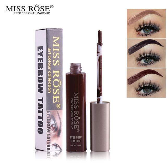 Miss Rose Eyes Makeup Chocolate Eyebrow Options Tint My Brows Gel