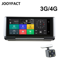 JOOYFACT E1 Dash Cam Car DVR GPS Navigation 3G 4G Android 5 BT Registrar Video Recorder