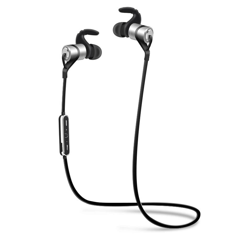 D9 In-ear Sport Waterproof Sweatproof Magnetic Absorption Voice Prompt V4.1 Bluetooth Earphone Stereo In-ear Headsets