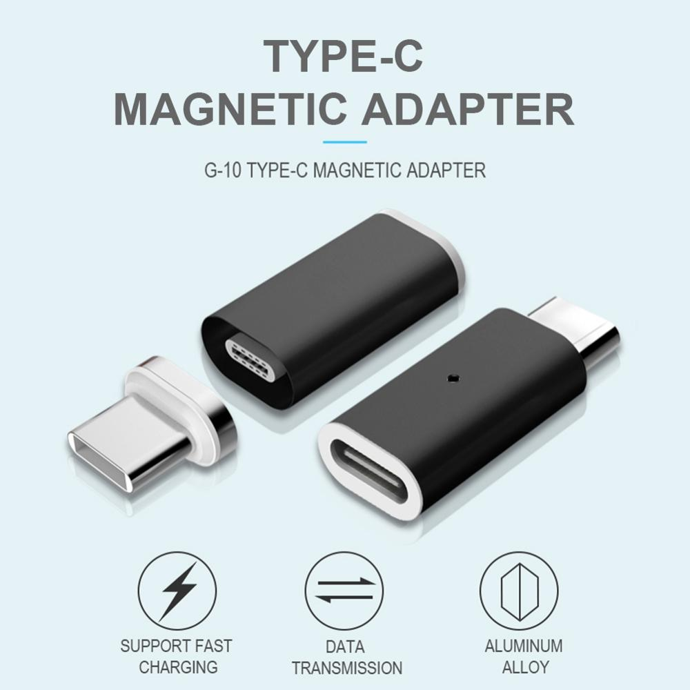Fast Charging Magnetic Adapter For Android Type C Transfer Micro USB 2.0 Device To Micro USB Cable For Phone Power Cable