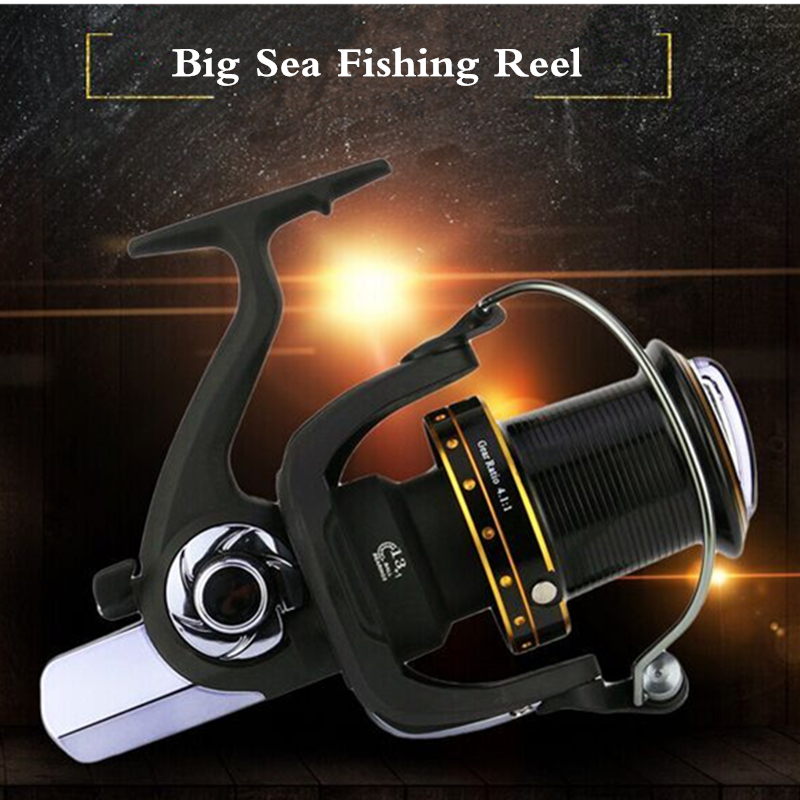 Long Shot Wheel Full metal spool Jigging trolling long shot casting for carp and salt water surf spinning big sea fishing reel commercial sea inflatable blue water slide with pool and arch for kids