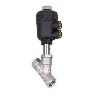 1/2 ''Ports Angle Siège Piston pneumatique Valve JZF-15