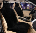 1 pc Free Shipping Winter warm Australian Sheepskin Car Seat Cover for One Front Seat Fur Auto Car Cushion Universal Car Cape