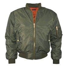 Autumn Winter parkas Army Green bomber jacket Women coat basic jacket Padded zipper chaquetas biker outwear