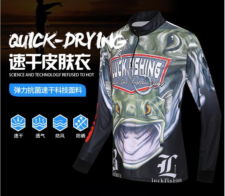 2018 nueva pesca ropa de abrigo protector solar verano transpirable rápido seco Anti-UV Ultrathin Anti mosquito manga larga envío gratis