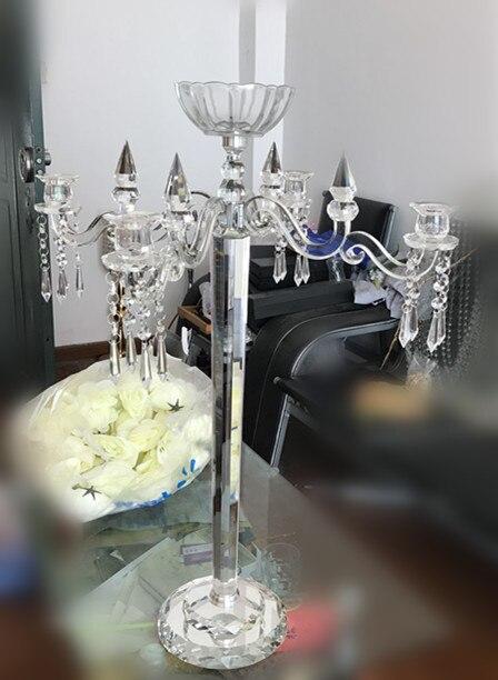 زهرة وعاء الزفاف الشمعدانات ، - الأعياد والحفلات