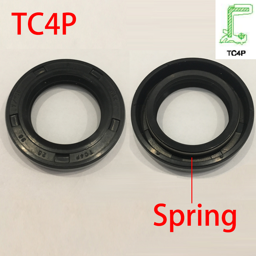TC4P 24*38*7 24x38x7 25*37*6/6.5 <font><b>25x37x6</b></font>/6.5 NBR Rubber Rotary Automobile Shock Absorber Steering Gear Spring Gasket Oil Seal image
