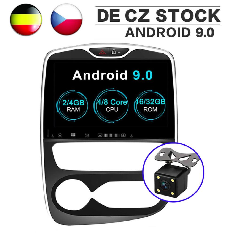 2Din Android 9.0 Car GPS Navigation DVD Player for Renault Clio 2013 2018 Octa Core 1024*600 10.1 Inch IPS Screen Video Headunit-in Car Multimedia Player from Automobiles & Motorcycles    1
