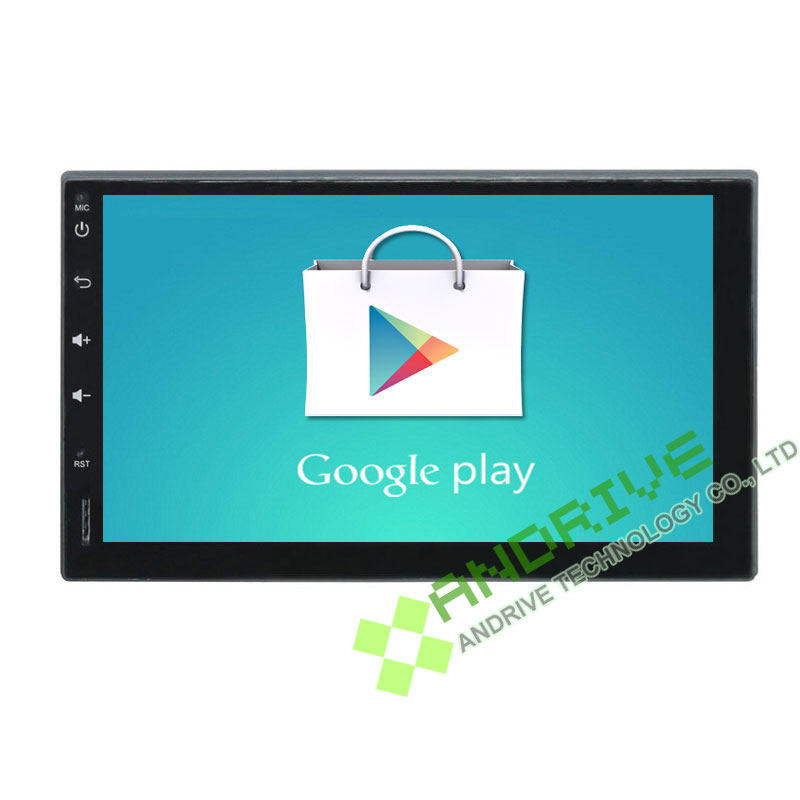 Universal 2 Din Quad Core Android 9.0 Audio Stereo 7Inch 1024*600 HD screen 1.6G CPU Car PC headunit Radio WIFI browser Free map image