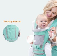 AIEBAO Breathable Ergonomic Baby Carrier Backpack Portable Infant Baby Carrier Kangaroo Hipseat Heaps Baby Sling Carrier Wrap