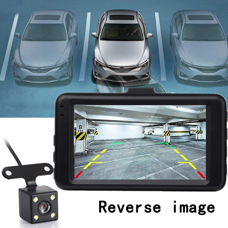 MIYAO Car Dvr Camera Dash Cam Mini 3 39 39 IPS Dual Lens 1080P HD Night Vision Video Recorder Car G sensor Parking Monitor DashCam in DVR Dash Camera from Automobiles amp Motorcycles
