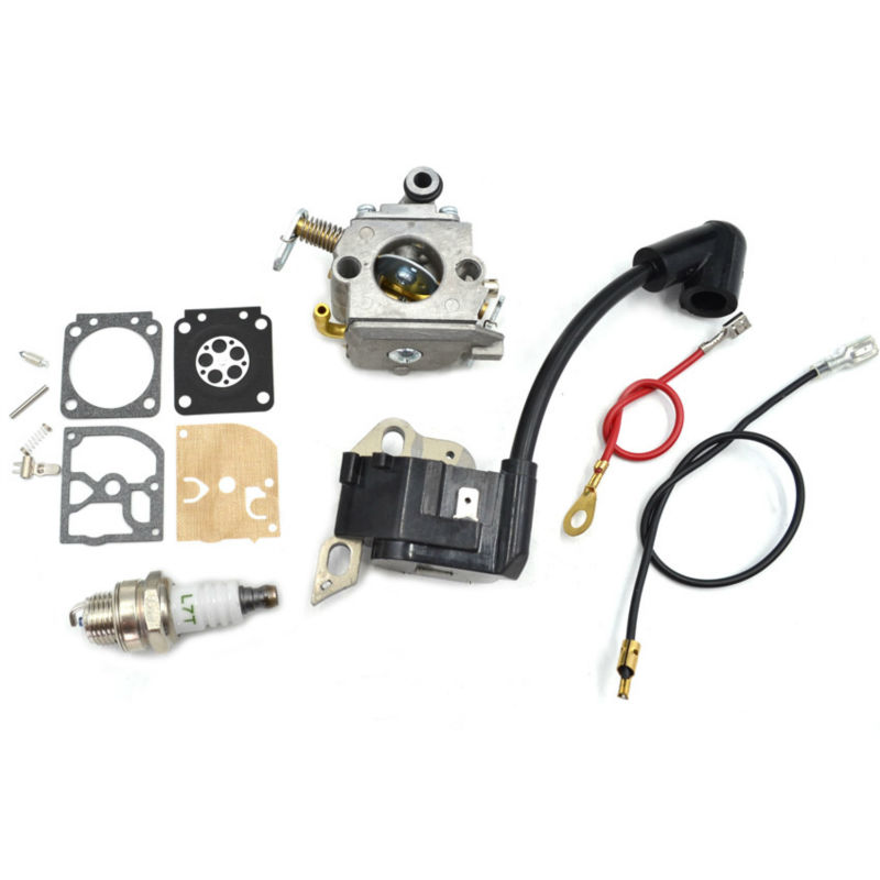 ZAMA C1Q S57B Carburetor Carb with Repair Kits Ignition Coil Spark Plug fit Stihl Chainsaw MS180 170 018 017 Parts