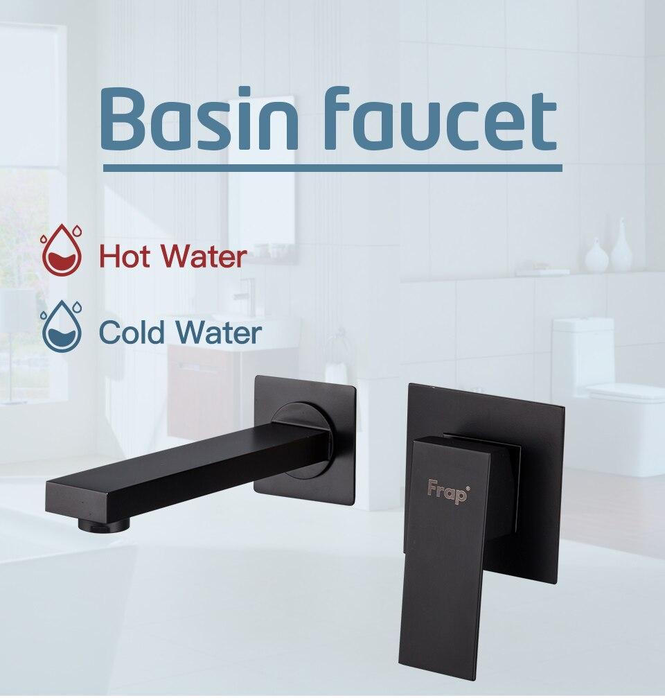 HTB1G2ssX.GF3KVjSZFoq6zmpFXaA FRAP Wall Mounted Basin Faucet Brass Single Handle Mixer Tap Hot & Cold Bathroom Water Bath Matt Black Faucet Sink Y10050/-1