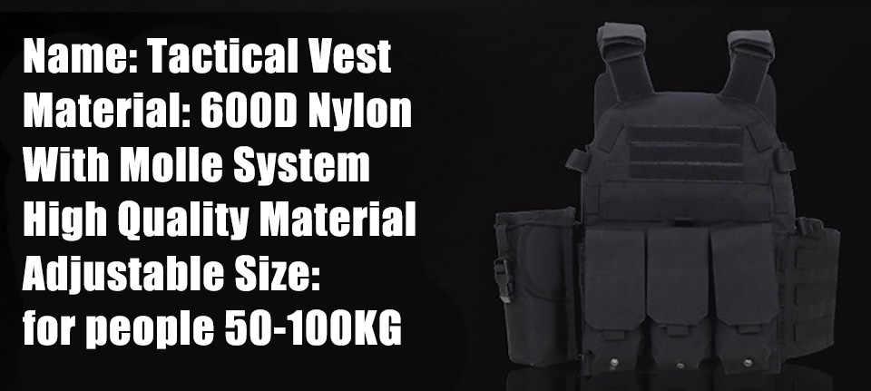 أسود اللون 600D النايلون رخوة التكتيكية سترة درع للجسم الصيد لوحة الناقل الادسنس 094K M4 الحقيبة القتالية والعتاد متعددة حدبة 201